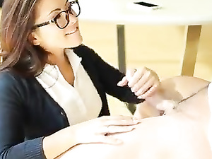 Plump Latina schoolgirl rides big dick in HD video