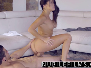 Megan Rain in high heels experiences hard fuck