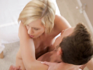 Chloe Brooke gets fucked after a good massage