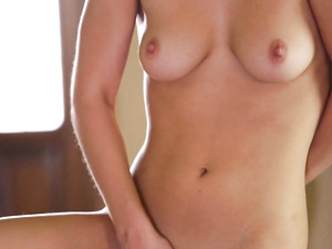 Solo girl Aidra Fox masturbates in various ways