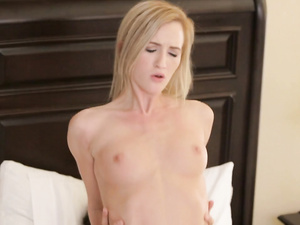 Small titted Skylar Green opens legs for hardfuck