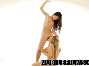 Whitney Conroy plays pussy rubbing and licking