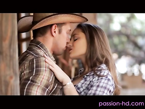 Hot cowboy Johnny fucks pretty Dani Daniels