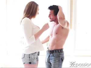 Brooke Wylde exchanges oral passion with dude