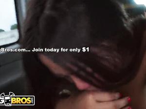 Asian slut with black pussy Sasha Yamagucci gets fucked hard in the van