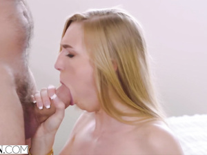 Mouthwatering young blonde girl Kendra Sunderland hotly fucks her boyfriend