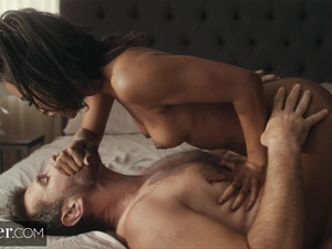 Young black babe Demi Sutra loved cunnilingus and interracial fuck